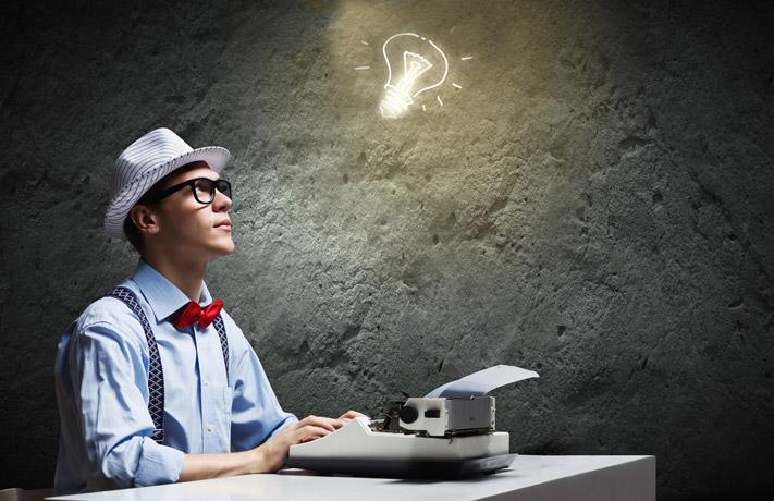 Texterstellung mit Content-Diensteistern